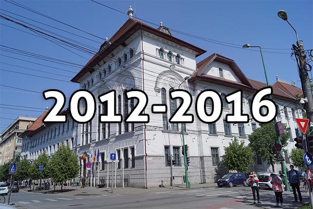 Componența Consiliului Local din mandatul 2012-2016