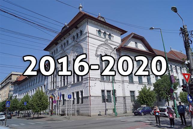Componenţa Consiliului Local din mandatul 2016 - 2020